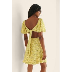 Curated styles robe courte ruchée avec dos...