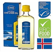 Lysi huile de foie de morue islandaise, 240mg,...