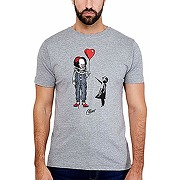 Stephen kings es t-shirt pennywise pour homme...