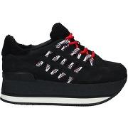 Sneakers & tennis basses hogan femme. noir. 35...