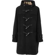 Burberry duffel-coat à doublure à carreaux -...