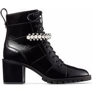 Jimmy choo bottines cruz 65 mm - noir