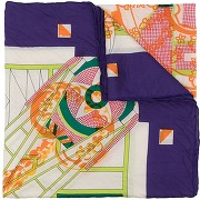 Hermès foulard à imprimé graphique pre-owned -...