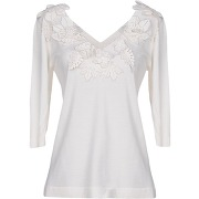 Pullover cruciani femme. blanc ivoire. 38...
